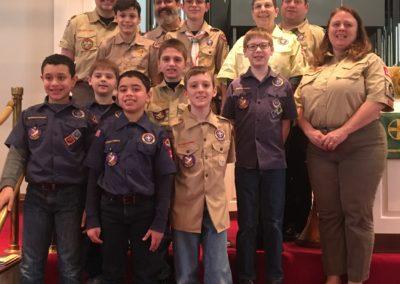 Boy Scout Anniversary